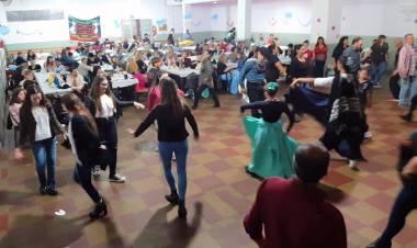 Peña por el séptimo aniversario del Ballet Santa Rosa