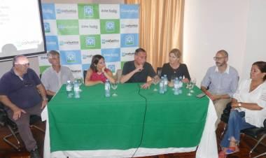 Presentan proyecto de la Universidad Nacional de la Cuenca del Salado