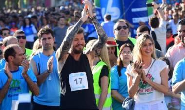 Delegación completa para la Maratón Dino Hugo Tinelli
