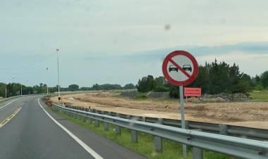 Arrieta Planifica retomar la obra de la autopista Cañuelas en los próximos 45 días