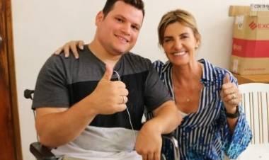 El Municipio colaboró para mejorar la calidad de vida de Marcos