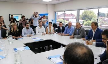 Fassi participó de un encuentro con los ministros de Seguridad y Gobierno