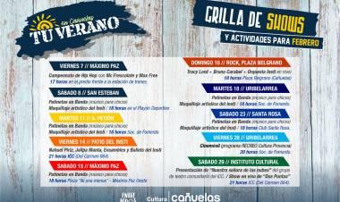"""El ciclo cultural """"Tu verano en Cañuelas"""" llega a los barrios"""