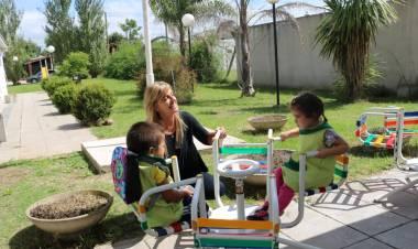 "Fassi en el inicio de clases del Jardín Maternal Municipal ""Gotitas de Amor"""