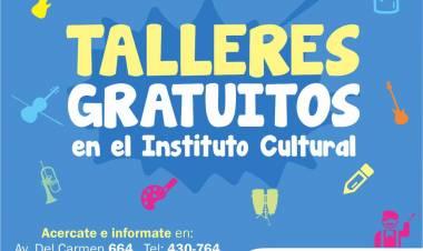 Arrancan hoy los talleres del Instituto Cultural Cañuelas 2020