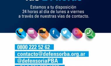Las delegaciones de la Defensoría cierran sus puertas hasta abril