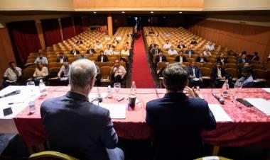 Marisa Fassi participó del encuentro con el gobernador