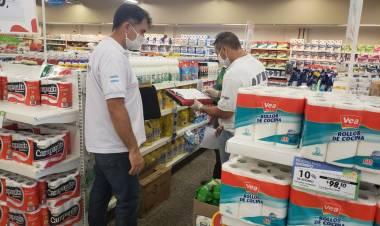 AFIP realizó un operativo de control de precios en Cañuelas