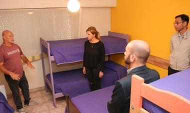 """Visita al Centro de SMATA donde se instalará un """"hotel de aislamiento"""""""