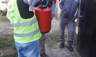 Garantizan la operabilidad de los cajeros en Máximo Paz