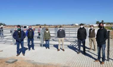 Se reactivaron las obras del Mercado Agroganadero próximo a su apertura