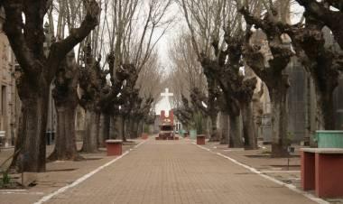 Las visitas a los cementerios locales será con turnos