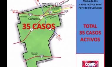 COVID-19: Cañuelas sumó 5 casos nuevos de contagio en el distrito - 5 de julio