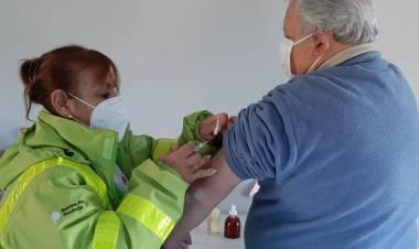 Continúa la campaña de vacunación por distintos puntos de Cañuelas