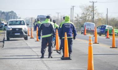Los intendentes se organizaron para incrementar los controles viales para bajar la circulación