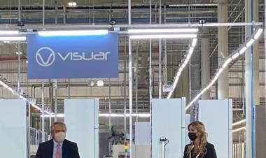El presidente Alberto Fernández anunció inversiones en Cañuelas
