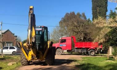 Obras de mejoramiento en barrios y localidades