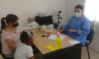 Comenzó la campaña de vacunación y evaluación fonoaudiológica en Santa Rosa