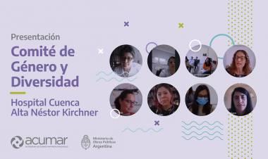Se presentó el Comité de Género del Hospital Cuenca Alta de Cañuelas