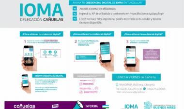 Nueva credencial digital para afiliados de IOMA