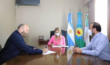 Firma de acuerdo Programa OID