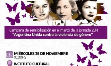 Actividades por el Día Internacional de la Eliminación de la Violencia contra las Mujeres