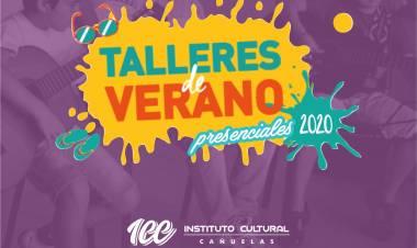 Nueva grilla de talleres presenciales en el Instituto Cultural