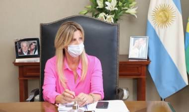 COVID-19: La intendenta Fassi vuelve al aislamiento preventivo