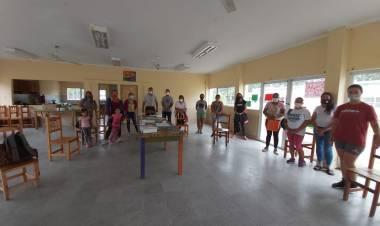 Se realizó una capacitación sobre métodos anticonceptivos en Máximo Paz