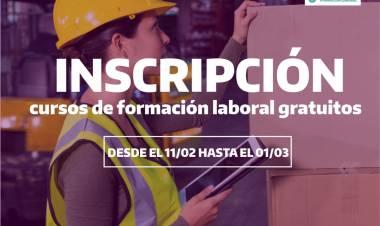 Abrirán la inscripción para realizar cursos gratuitos de formación laboral
