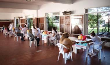Comenzó en Cañuelas la campaña de vacunación