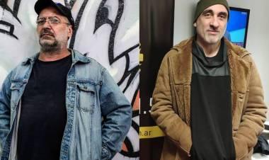 Miguel Rep y Pedro Saborido en el Instituto Cultural Cañuelas