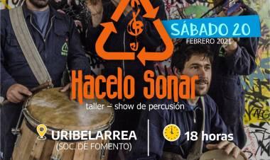 Actividades artísticas en San Esteban y Uribelarrea