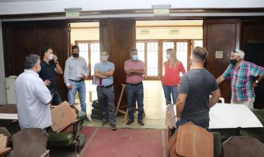 El Municipio planifica recuperar el Cine Teatro Cañuelas