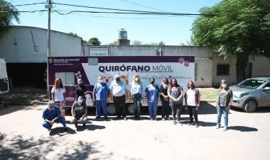 Quirófano móvil: 140 animales castrados en las primeras cuatro jornadas