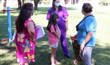 Llevan a cabo un operativo sanitario en San Esteban