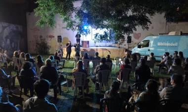 Saborido y Rep en el Instituto Cultural Cañuelas