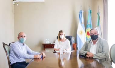 Reunión entre la intendenta y empresarios interesados en invertir en Cañuelas
