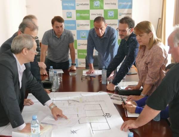 Reunión con Edesur por suministro industrial y obras en el distrito