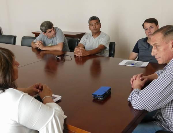 Avances por la gestión de predio deportivo del Club Villa María