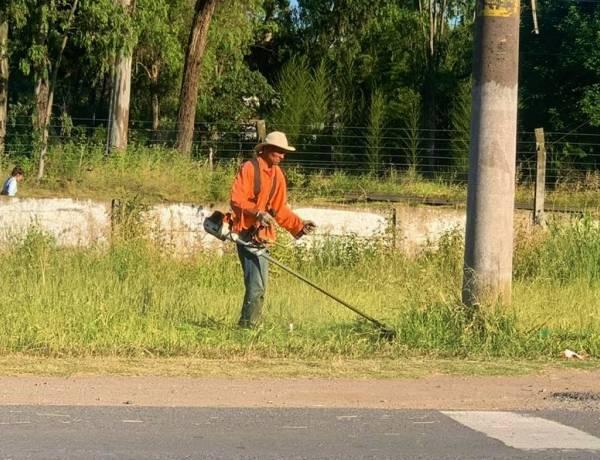 Suman labores de mantenimiento en vía pública