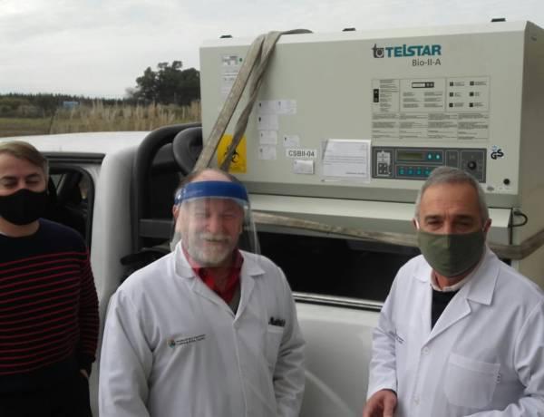 COVID-19: El Hospital Néstor Kirchner podrá realizar los test de COVID-19