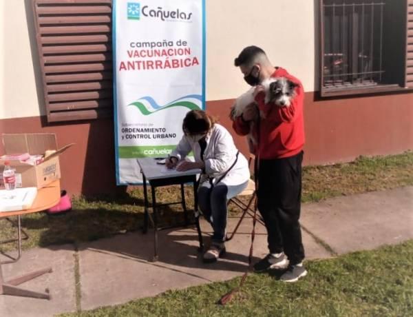 Plan de vacunación antirrábica en el barrio San Ignacio