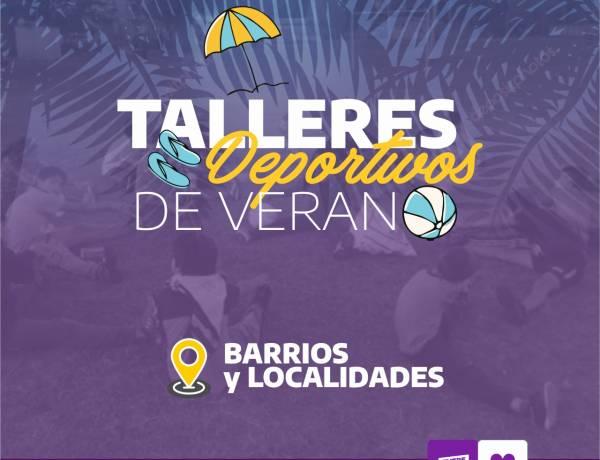 Abierta la inscripción para los Talleres Deportivos de verano