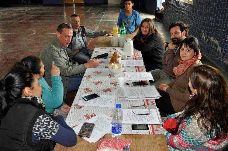 El intendente Arrieta visitó Santa Rosa y confirmó nuevas obras