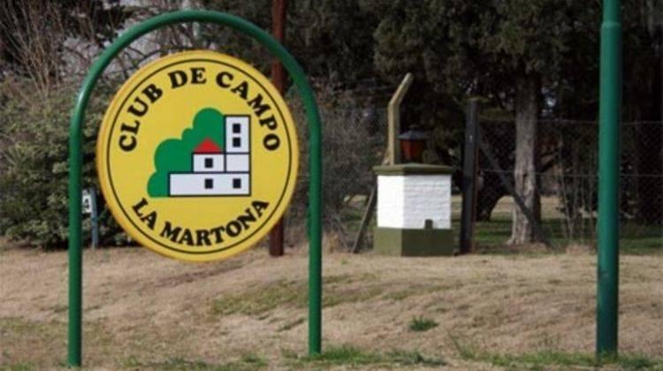"""Investigan un presunto suicidio en el club de campo """"La Martona"""""""