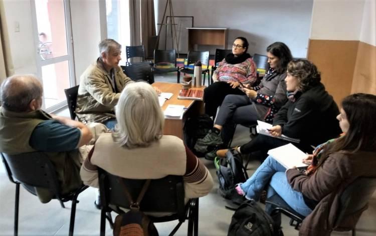 Reunión de la mesa de productores familiares de Cañuelas