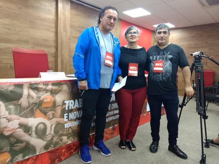 LA CTA  PARTICIPA DE UNA JORNADA INTERNACIONAL CON LA CUT DE BRASIL
