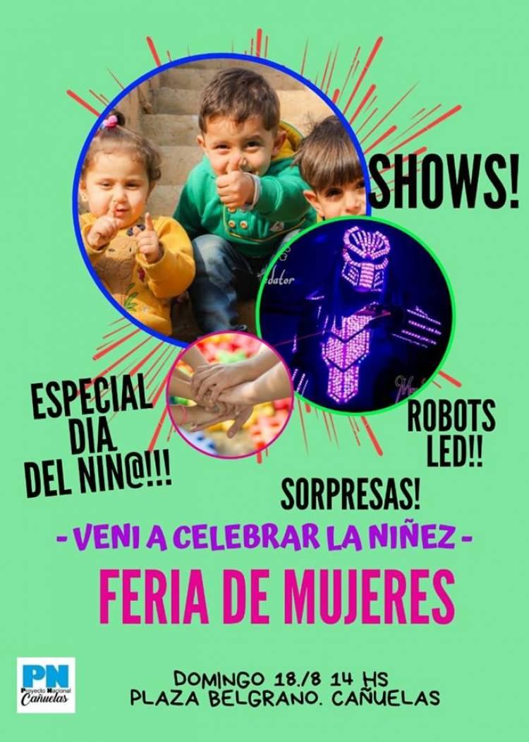 """Edición especial de la """"Feria de Mujeres"""" por el Día del Niño"""