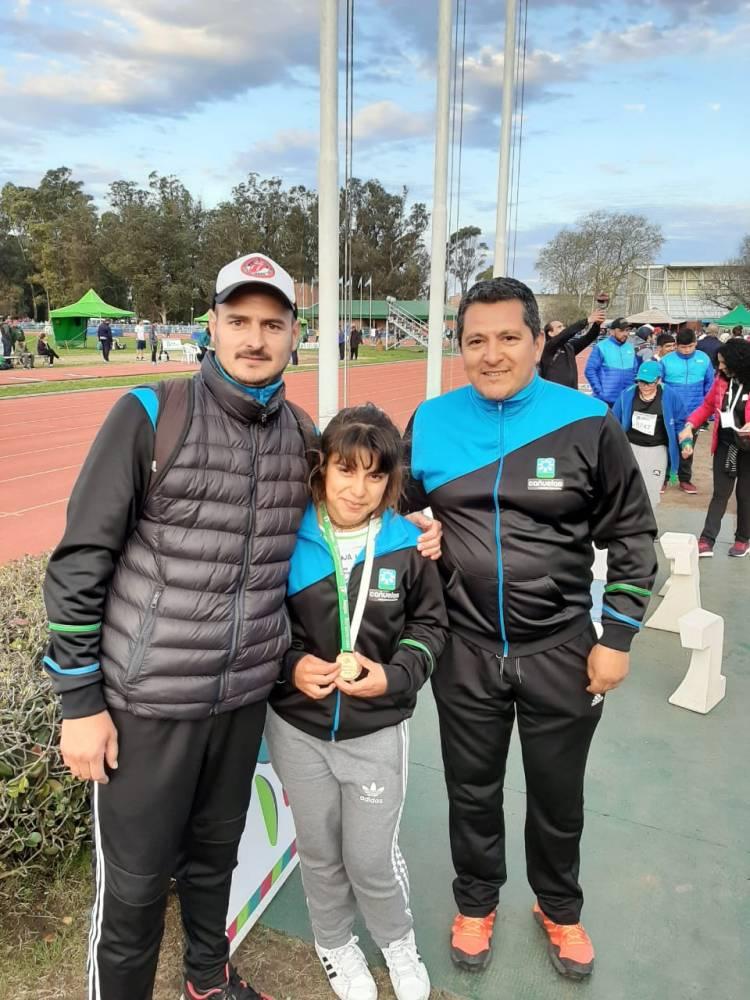 Tres medallas más para la delegación de Cañuelas
